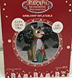 Disney 4 ft Lighted Rudolph Airblown Christmas Inflatable