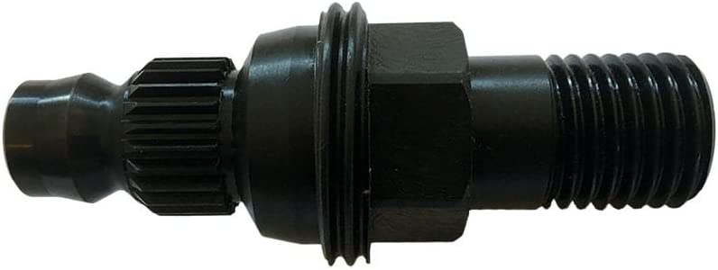 "Hilti Core Drill Adapter- Quick Disconnect Male 3 Slot to 1-1//4/"" 7 Thread"