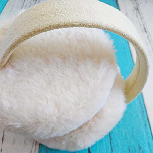 Regular Japanese Traditional Cultural Winter Earmuffs Ear Warmers Faux Fur Foldable Plush Outdoor Gift