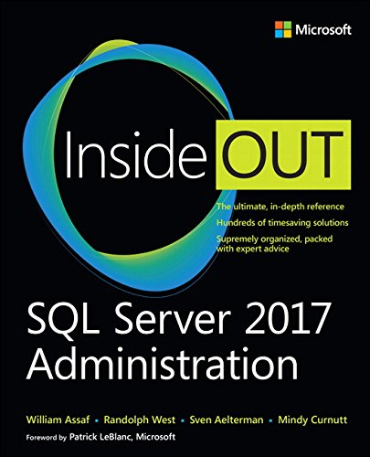 SQL Server 2017 Administration Inside Out by Microsoft Press