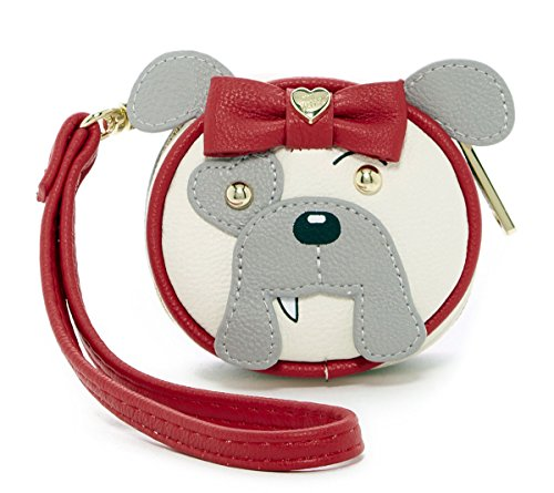 Betsey Johnson Animal Faux Leather Contact Lens Case - Bu...