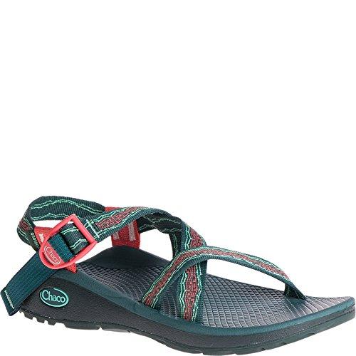 Chaco Kvinners Zcloud Sport Sandal Tri Opal