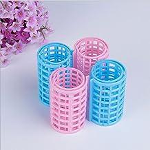 sea-junop Handmade Plastic Hair Styling Roller Curlers Clips Hair Curler