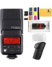 Godox TT350O 2.4G HSS 1/8000 s TTL GN36 Camera Flash Mini Speedlite geschikt voor Olympus/Panasonic spiegelloze digitale camera (TT350o)