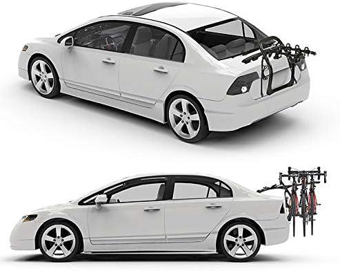 LJ-BICYCLE RACK Portabicicletas de Coche Porta Bicicletas para Colgar en la Parte Trasera SUV Coche Vehículo de suspensión Estante Halfback 2 Bike: Amazon.es: Hogar