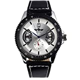 Fashion New Men's Steampunk Style Luxury Sport Automatic Mechanical Watch Odm 51 - Silver