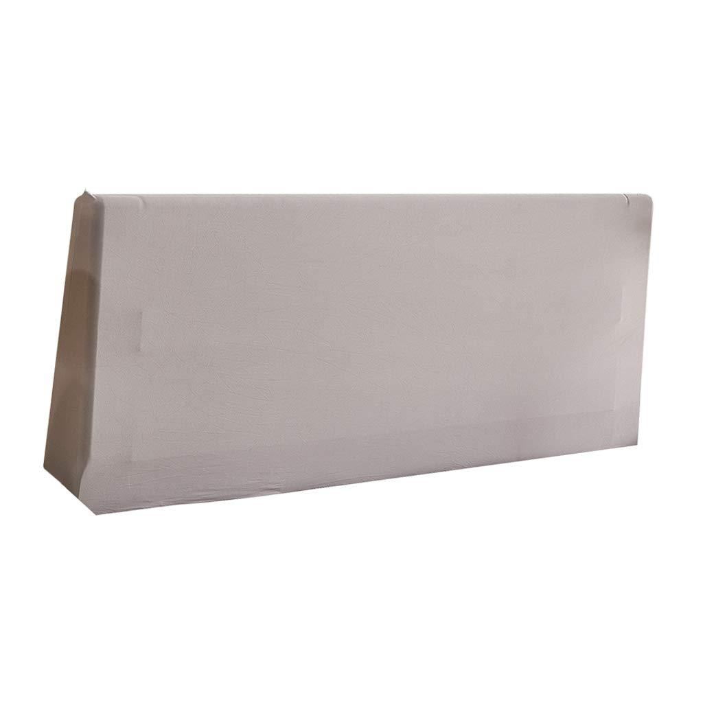 Beige 120 cm Fenteer Copertura Protettiva Elastica per Testata Testiera Letto 5 Colori per La Selezione