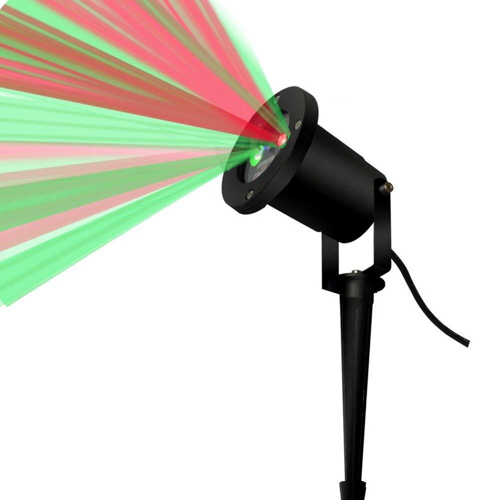 Christmas laser lights outdoor projector laser lights RayGold Aluminum alloy shell.Landscape Green & red Projector. garden laser light star shower
