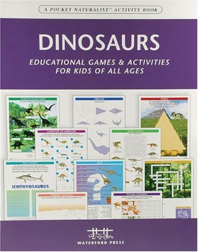 Dinosaurs Nature Activity Book: Educational Games & Activities for Kids of All Ages (Children