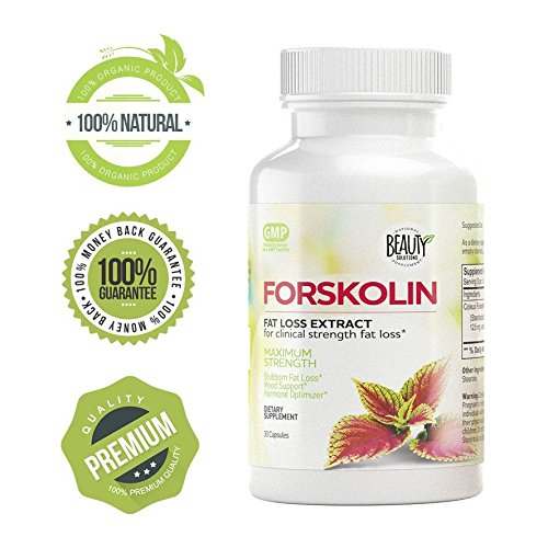 Forskolin - High potency fat burner | Burn belly fat | Boosts metabolism | Appetite suppressant control | Diet pills| Slim fast | 100% natural extract | Maximum strength | Weight loss enhancer |