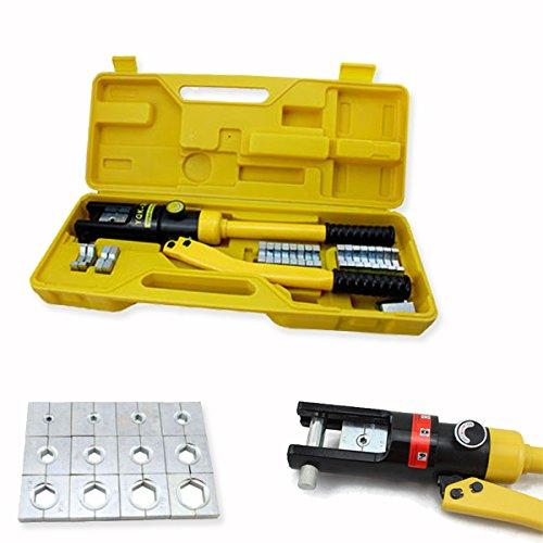 HG® Alicate hidráulico Engaste Herramienta de prensa. Cable Guantes hidráulico 10hasta 300mm² huigou