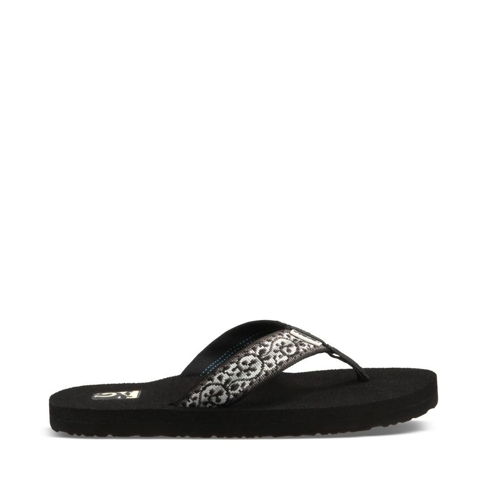 Teva Women's Mush II Flip Flop,Companera Black,8 M US