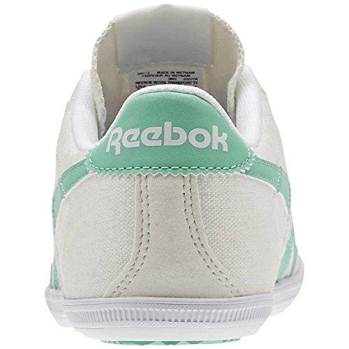 Tx White Vert Teal Reebok Exotic Blanc Sport Chaussures chalk Royal Femme De Transport PP07ExZ