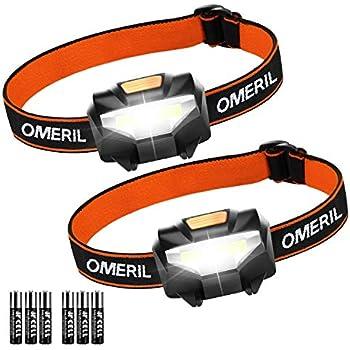200 Lumen 3 Watt Energy Efficient Super Bright COB LED Headlamp Flood Light GRN