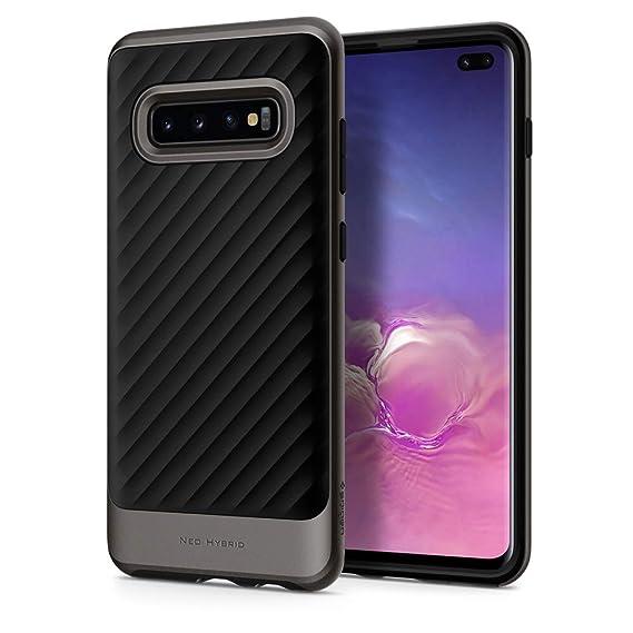 promo code 10f51 68e0b Spigen Neo Hybrid Designed for Samsung Galaxy S10 Case (2019) - Gunmetal