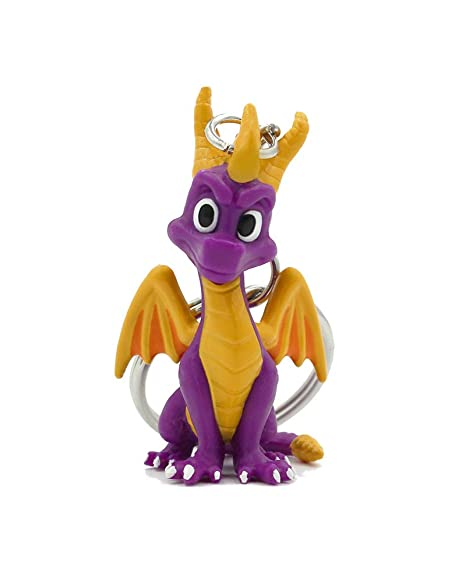 Official Spyro The Dragon 3D Keyring/Keychain