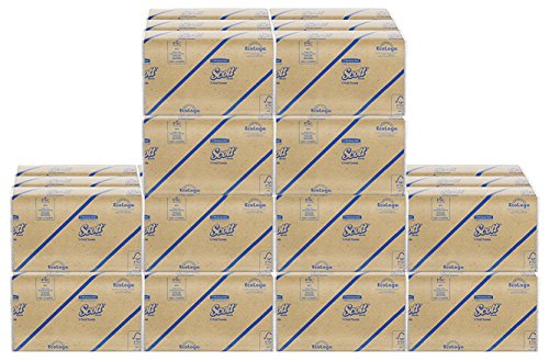 Scott C Fold Paper Towels (01510) with Fast-Drying Absorbency Pockets peKLE, 3Units (12 Pack) price