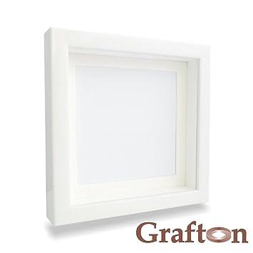white shadow box frame 3d frame square deep frame wooden frame wall