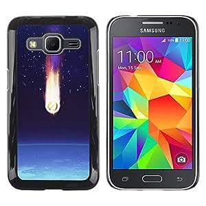 iKiki Tech / Estuche rígido - Comet Earth Art Space Stars Atmosphere - Samsung Galaxy Core Prime SM-G360