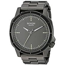 Nixon Men's 'Ranger Ops' Quartz Stainless Steel Watch, Color:Grey (Model: A913632-00)