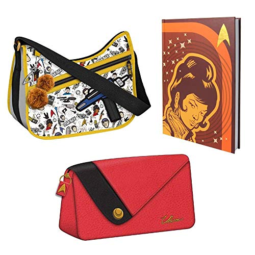 Toynk Star Trek The Original Series Uhura Gift Set: Journal, Make-Up Bag, & Purse