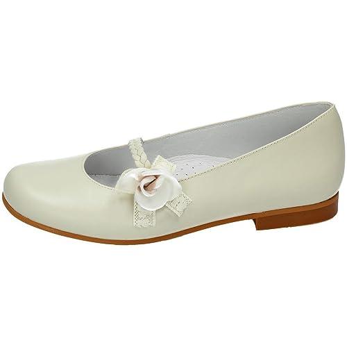 e3e1ab91dda BAMBINELLI 1314131 COMUNIÓN BAMBI SHOES NIÑA ZAPATO COMUNIÓN BEIG 31   Amazon.es  Zapatos y complementos