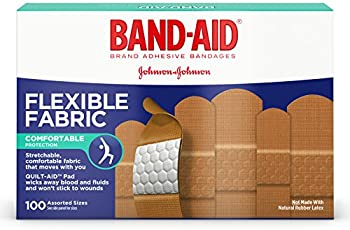 100-Count Band-Aid Flexible Fabric Bandages