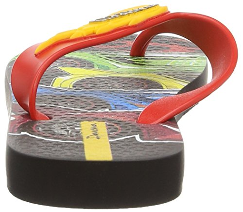 Ipanema Hot Wheels Tyres, Sandalias Flip-Flop para Hombre Red (Red)