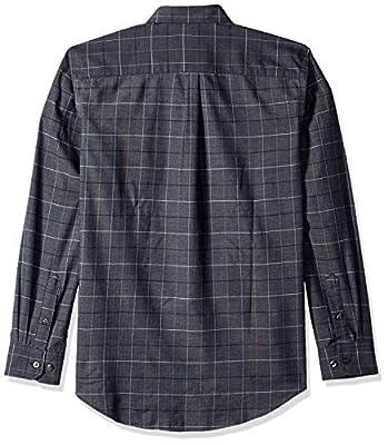 Van Heusen Men's Flex Long Sleeve Large Grid Button Down Shirt