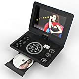 MonkeyJack 10.1 Portable Touch Screen DVD Player for Game TV Dancing Multimedia Player