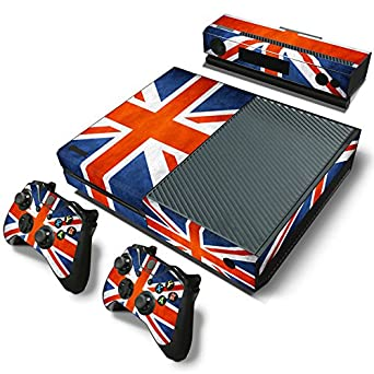 Xbox One Konsole Haut Video Game Accessories 2 X Controller Aufkleber Abziehbild Faceplate Pad Kinect High Quality Controllers & Attachments