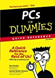 img - for PC's for Dummies Quick Reference (For Dummies: Quick Reference (Computers)) by Dan Gookin (2003-03-21) book / textbook / text book