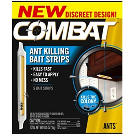 Combat Ant Killing Bait Strips 5 Count 12 Pack
