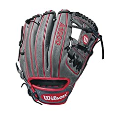"""The new 11.5"""" Wilson A1000 glove is made with the same innovation that drives Wilson Pro stock infield patterns, and is the right choice for the up-and-coming star ballplayer. Wilson new A1000 line of ball gloves is built with Pro stock patte..."""