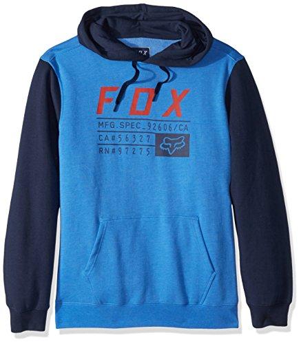 Fox Men's District 3 Pullover Fleece, Acid Blue, XXL
