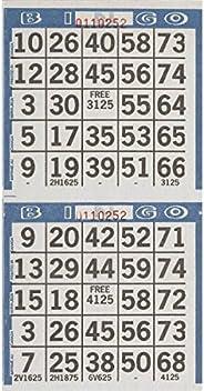 "Amscan 255571 Bingo Game Sheets, As Shown, 8"" x 4&q"