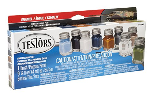 Price comparison product image Testors Camo Flat Enamel Paint Set