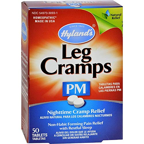 Hyland's Leg Cramps PM With Quinine (Cinchona officinalis)Tablets 50 ea