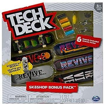 Tech Deck Bonus Pack sk8shop (Estilos varían): Amazon.es ...
