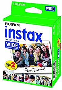 Fujifilm Instax Wide Instant Film Twin Pack, 5 boxes