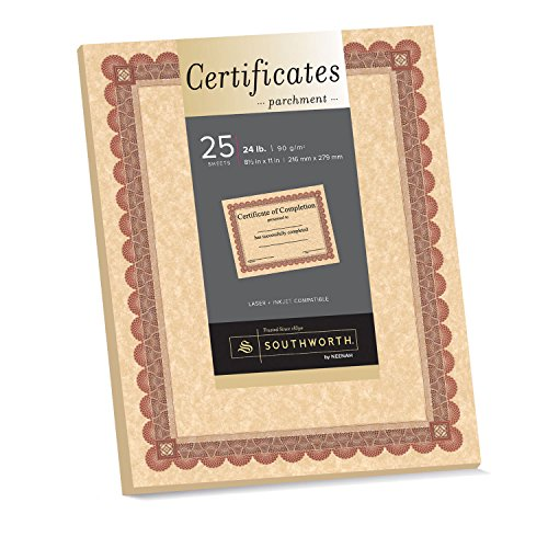 Southworth Southworth Copper Parchment Certificates ()