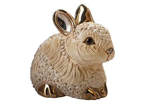 (De Rosa - Bunny Resting Figurine )