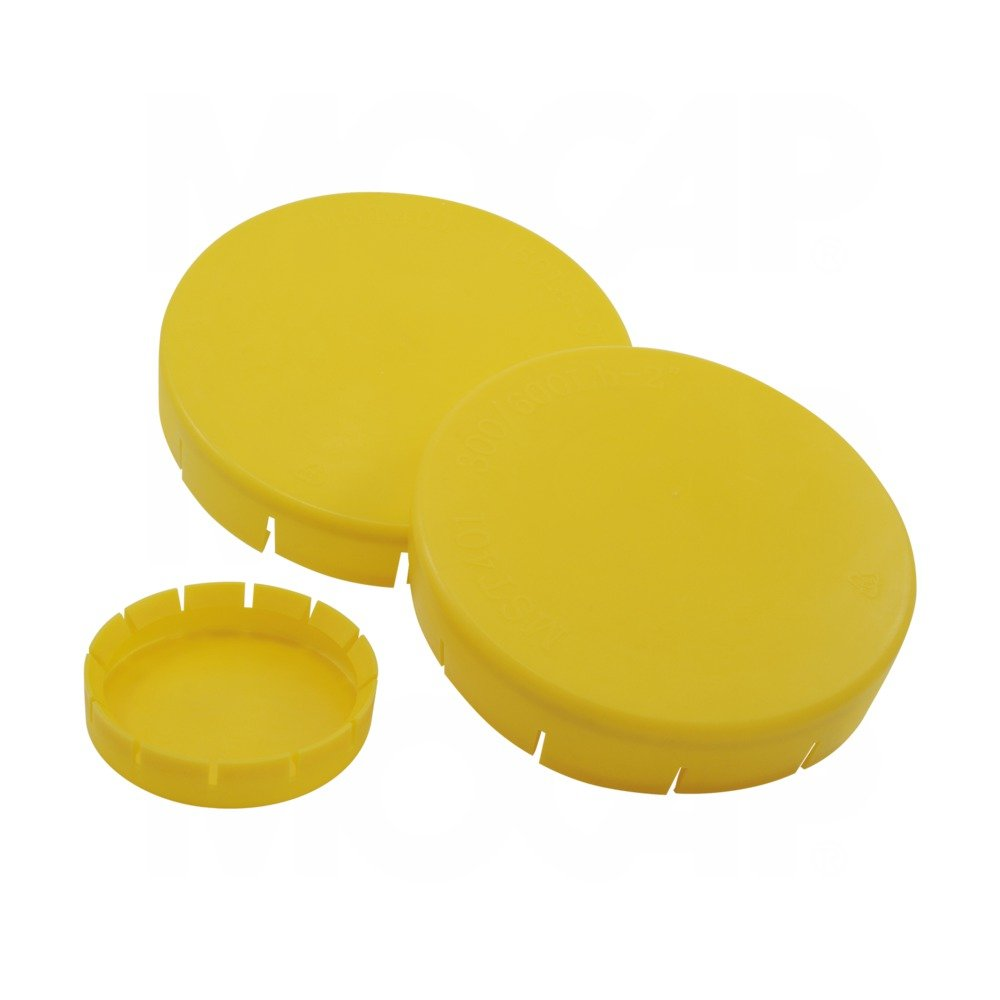 MOF1501500YW1 1-1/2'' Nominal Size - for 150 lb -LDPE - Yellow - MOCAP (qty 175)