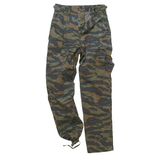 Mil-Tec BDU Combat Trousers Tiger Stripe size XL