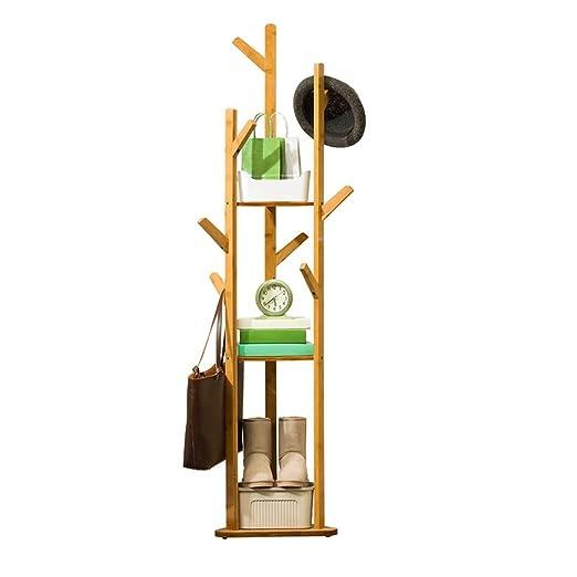 Percheros para sombreros 170 cm Perchero de madera Soporte ...