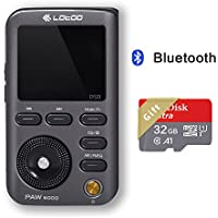Lotoo PAW 5000 Digital Audio Hifi High Resolution Lossless Music Player with Bluetooth 32G Micro SD Card as Gift 2TB Max Storage 2