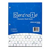 Benznote Loose Leaf Filler Paper for Organic and Bio Chemistry