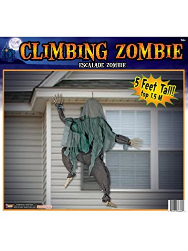 Forum Novelties 76843 Wall Climbing Zombie, Multicolor -