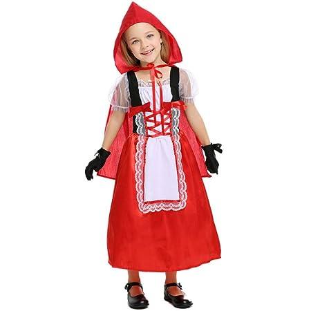 BLOIBFS Vestido De Princesa Disfraces Niña Disfraz De ...