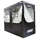 """Growtent Garden Hydroponic Grow Tent Kit Indoor 96""""x48""""x78"""" for Growing Plants, 600D Heavy Duty High Reflective Mylar Lightproof Waterproof Dark Grow Room"""